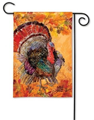 Proud Turkey Garden Flag | Thanksgiving Flags | Yard Flags | Fall Flags