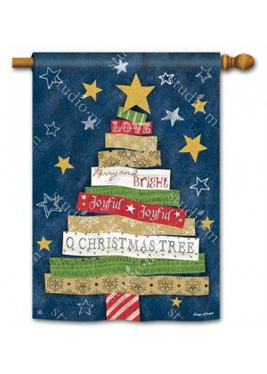 Songs of Christmas House Flag | Christmas Flags | Yard Flags | Cool Flags