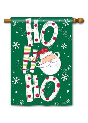 Santa Says House Flag | Christmas Flags | Holiday Flags | Winter Flags