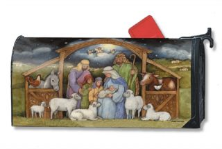 Holy Family Mailbox Cover | Mailwraps | Christmas Mailbox Covers