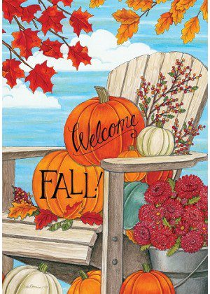 Fall Adirondack Flag | Thanksgiving Flags | Double Sided Flags | Fall Flags