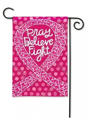 Think Pink Garden Flag | Charity Flags | Inspirational Flags | Yard Flags
