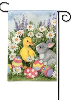 Easter Babies Garden Flag | Easter Flags | Holiday Flags | Cool Flags