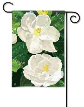 Sweet Magnolia Garden Flag | Floral Flags,| Yard Flags | Spring Flags