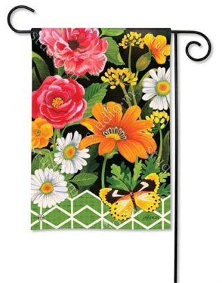 Fancy Floral Garden Flag | Floral Flags | Summer Flags | Spring Flags