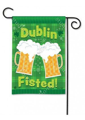 Dublin Fisted Garden Flag | St. Patrick's Day Flags | Holiday Flags | Flags