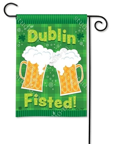Dublin Fisted Garden Flag
