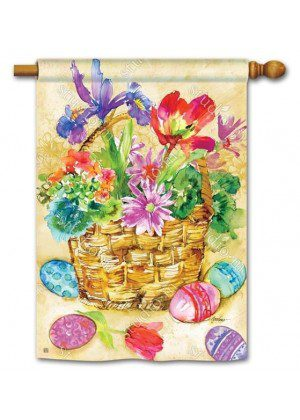 Easter Beauty House Flag | Easter Flags | Holiday Flags | Yard Flags