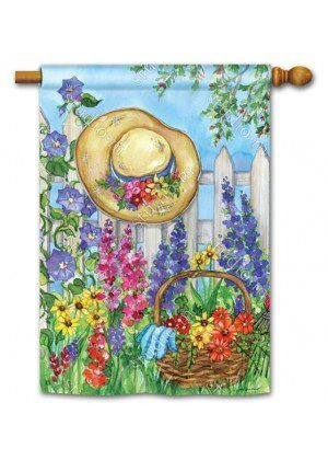 Springtime Beauty House Flag | Floral Flags | Spring Flags | Yard Flags