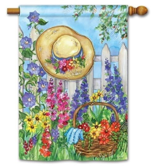 Springtime Beauty House Flag