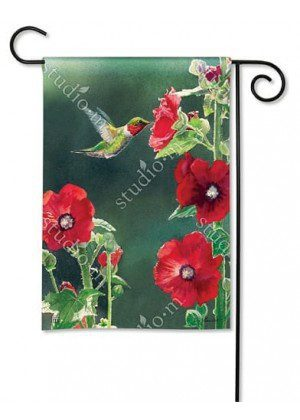 Hummingbird Delight Flag | Decorative Garden Flag | Garden House Flags