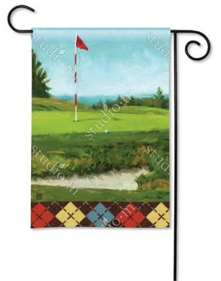 On the Green Garden Flag | Golf Flag | Sport Flag | Hobby Flag | Yard Flag