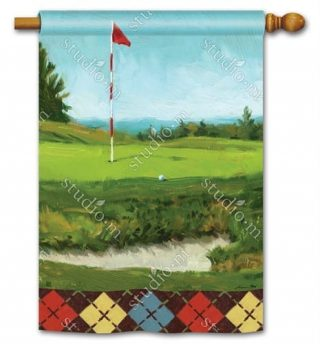 On the Green House Flag | Golf Flags | Summer Flags | Yard Flags