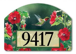 Hummingbird Delight Yard Sign | Address Plaques | Yard Decor | Yard Sign