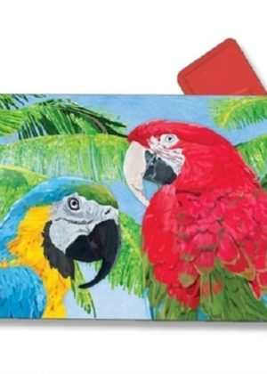 Tropical Beauties Mailbox Cover | Mailwraps | Garden House Flags