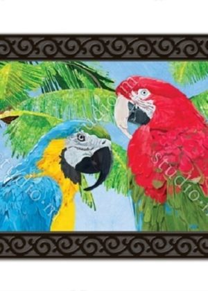 Tropical Beauties Doormat | Doormats | MatMates | Garden House Flags