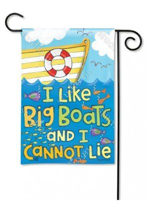 Big Boats Garden Flag | Nautical Flags | Summer Flags | Cool Flags