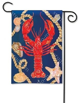 Lobster Garden Flag | Nautical Flag | Animal Flags | Yard Flags | Cool Flag