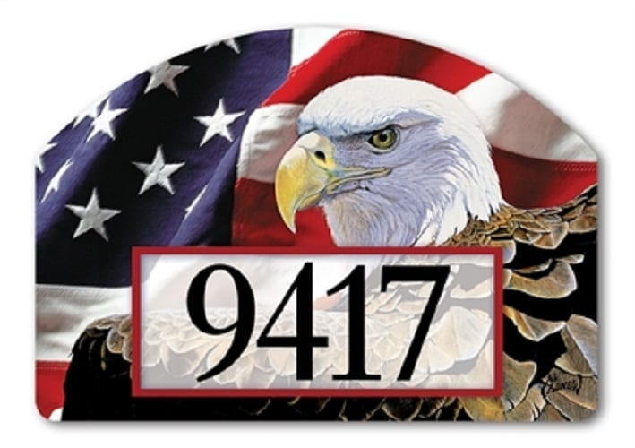 Spirit of Freedom Yard Sign | Address Plaques | Garden House Flags