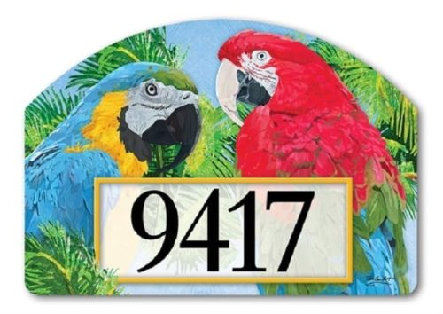 Tropical Beauties Yard Sign | Address Plaques | Garden House Flags