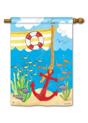 Big Boats House Flag | Nautical Flags | Summer Flags | Yard Flags