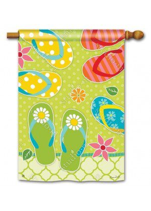 Hello Summer House Flag | Summer Flags | Beach Flags | Yard Flags