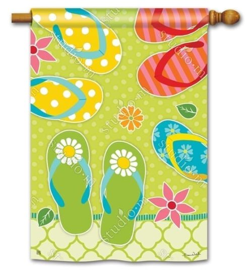 Hello Summer Flag | House Flags | Decorative Flags | Garden House Flags