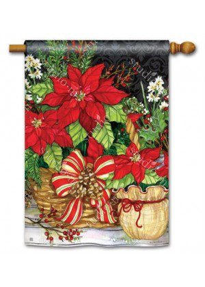Christmas Beauty House Flag | Christmas Flags | Yard Flags | Cool Flags