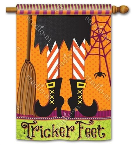 Tricker Feet Flag | House Flags | Decorative Flags | Garden House Flags