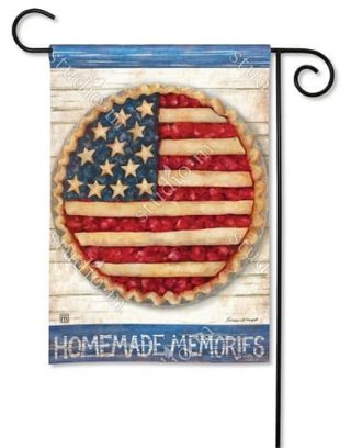 Homemade Memories Garden Flag | Patriotic Flags | 4th of July Flags