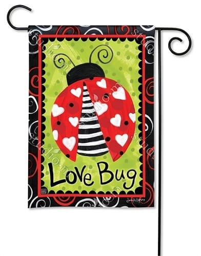 Love Bug Flag | Decorative Flag | Garden Flag | Flag | Garden House Flag