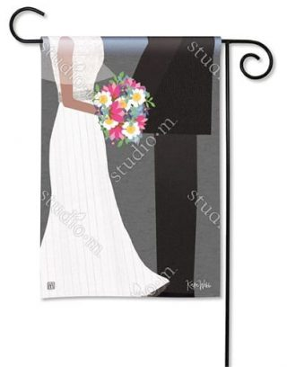 Wedding Couple Garden Flag | Wedding Flags | Yard Flags | Cool Flags