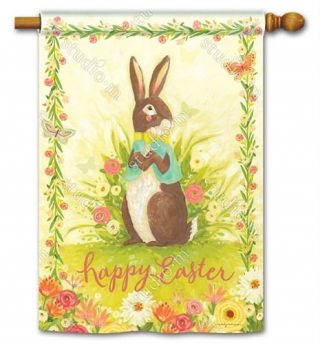 Easter Bliss House Flag   Easter Flags   Holiday Flags   Yard Flags   Flags