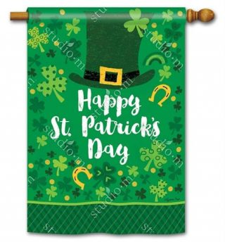 Everything Irish House Flag | St. Patrick's Day Flags | Yard Flags | Flags