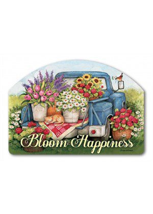 Flower Picking Time Yard Sign | Yard Signs | Yard Decor | Address Plaques
