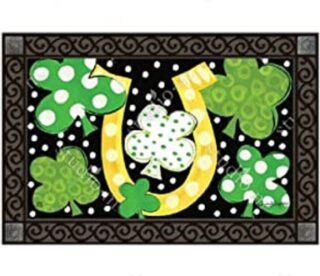 Luck of the Irish Doormat | Doormats | MatMates | Garden House Flags