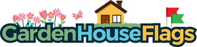 Garden House Flags Logo