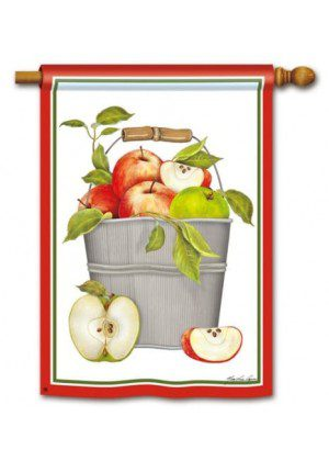 Apples House Flag | Fall Flags | Summer Flags | Yard Flags | Cool Flags