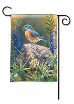 Flower Watching Garden Flag | Bird Flags | Floral Flags | Spring Flags