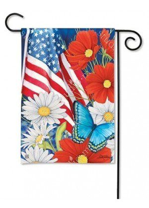 Red, White and Blue Garden Flag | Patriotic Garden Flags | Yard Flags