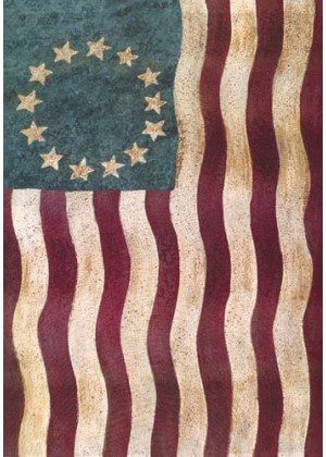 Wavy Betsy Ross Flag | 4th of July Flags | Patriotic Flags | Summer Flags