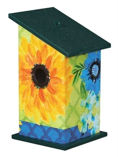 Fresh and Pretty Birdhouse | Decorative Birdhouses | Garden House Flags