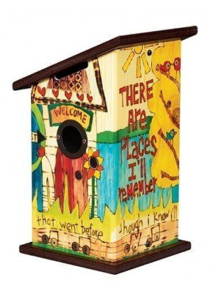 In My Life Birdhouse | Garden Decor | Birdhouses | Garden House Flags