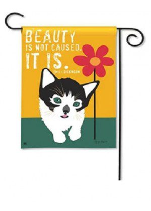 Beauty Is Flag | Inspirational Flags | Garden Flags | Animal Flag | Cool Flag