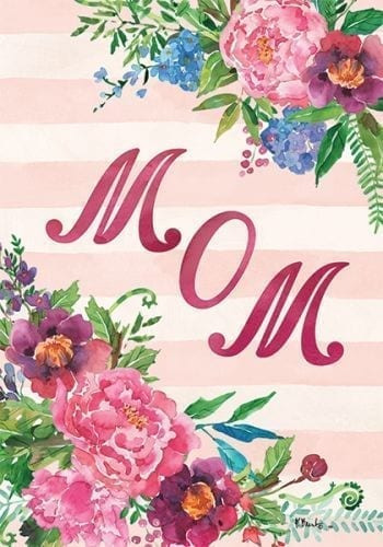 Mom Flag | Mother's Day Flags | Decorative House Flags | Garden House Flags