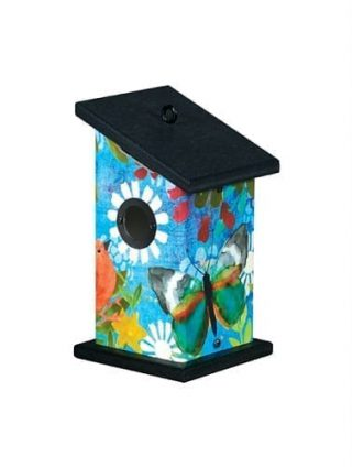 Peaceful Paradise Wren Birdhouse | Birdhouses | Garden House Flags