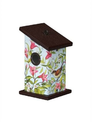 Songfilled Beauty Wren Birdhouse | Birdhouses | Garden House Flags
