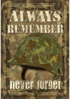 Always Remember Flag | Decorative Garden Flags | Garden House Flags