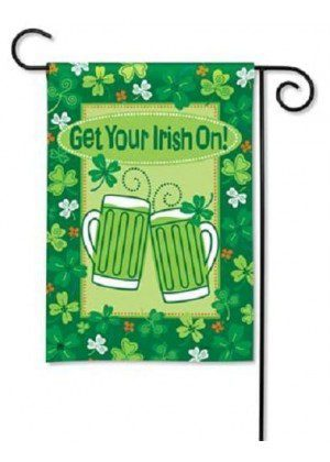 Get Your Irish On Garden Flag | St. Patrick's Day Flags | Cool Flags