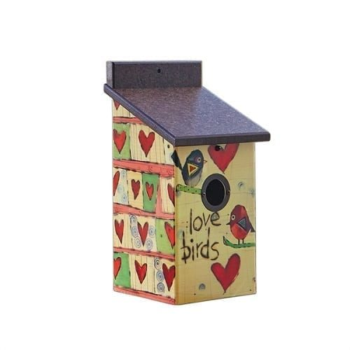 Love Birds Birdhouse